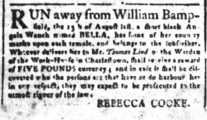 Oct 16 - South-Carolina and American General Gazette Slavery 5
