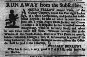 Oct 18 - South-Carolina Gazette Slavery 1
