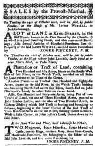 Oct 18 - South-Carolina Gazette Slavery 4