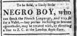 Oct 19 - Boston Chronicle Slavery 1