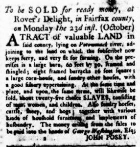 Oct 19 - Virginia Gazette Rind Slavery 3