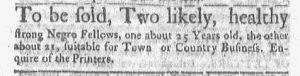 Oct 2 - Boston-Gazette Slavery 2