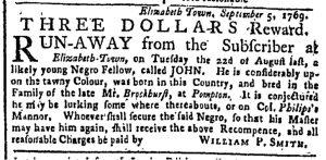 Oct 2 - New-York Gazette or Weekly Post-Boy Slavery 2