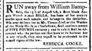 Oct 2 - South-Carolina and American General Gazette Slavery 6