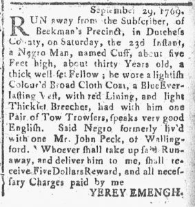 Oct 20 - Connecticut Journal Slavery 2