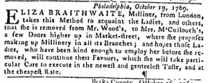 Oct 22 - 10:19:1769 Pennsylvania Gazette