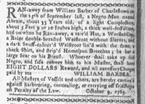 Oct 23 - Boston-Gazette Slavery 1