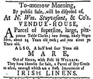 Oct 23 - New-York Gazette and Weekly Mercury Slavery 4