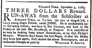 Oct 23 - New-York Gazette or Weekly Post-Boy Slavery 1