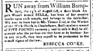 Oct 23 - South-Carolina and American General Gazette Slavery 10