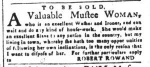 Oct 23 - South-Carolina and American General Gazette Slavery 11