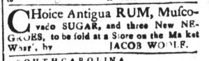 Oct 23 - South-Carolina and American General Gazette Slavery 12
