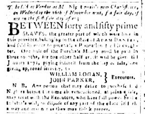 Oct 23 - South-Carolina and American General Gazette Slavery 5