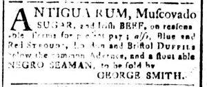 Oct 23 - South-Carolina and American General Gazette Slavery 6