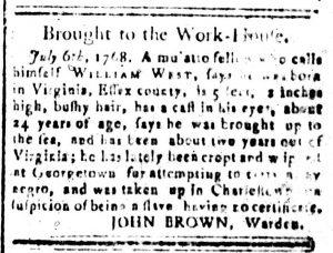 Oct 23 - South-Carolina and American General Gazette Slavery 7