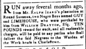 Oct 23 - South-Carolina and American General Gazette Slavery 9