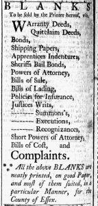 Oct 24 - 10:24:1769 Essex Gazette