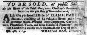 Oct 26 - South-Carolina Gazette Supplement Slavery 6