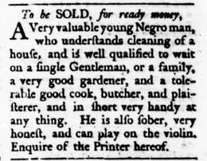 Oct 26 - Virginia Gazette Rind Slavery 5