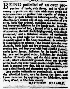 Oct 26 - Virginia Gazette Rind Slavery 9