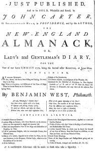 Oct 28 - 10:28:1769 Providence Gazette