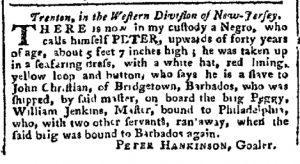 Oct 30 - Pennsylvania Chronicle Slavery 1