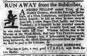 Oct 5 - South-Carolina Gazette Slavery 5