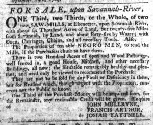 Oct 5 - South-Carolina Gazette Slavery 8