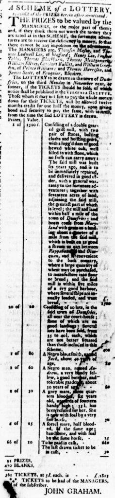 Oct 5 - Virginia Gazette Rind Slavery 12