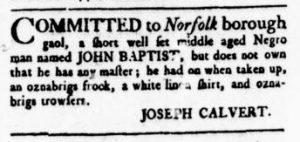 Oct 5 - Virginia Gazette Rind Slavery 3