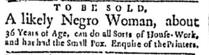 Oct 9 - Boston Evening-Post Slavery 2