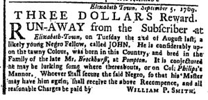 Oct 9 - New-York Gazette or Weekly Post-Boy Slavery 2