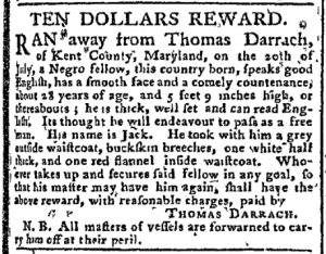 Oct 9 - Pennsylvania Chronicle Slavery 1