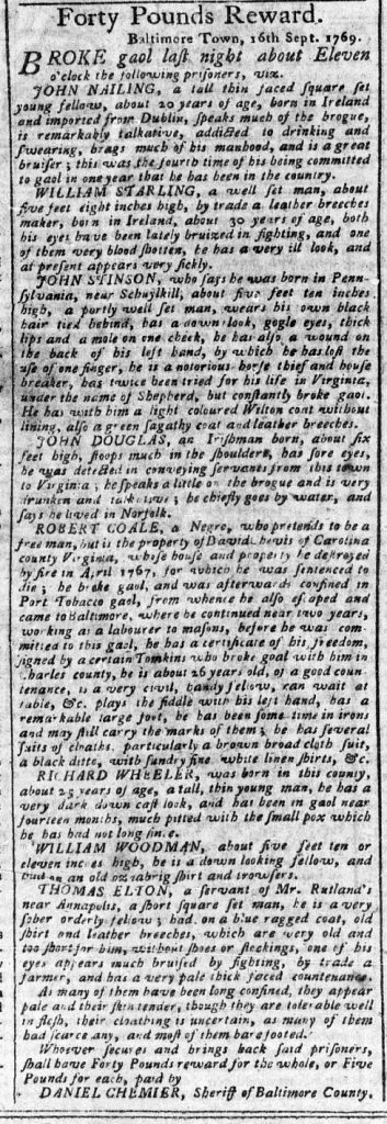 Oct 9 - Pennsylvania Chronicle Slavery 3