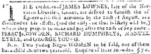 Aug 2 - Pennsylvania Journal slavery 2