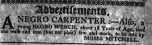 Aug 2 - South-Carolina Gazette slavery 1