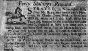 Aug 2 - South-Carolina Gazette slavery 3