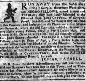 Aug 2 - South-Carolina Gazette slavery 4