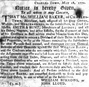 Aug 2 - South-Carolina Gazette slavery 5