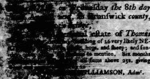 Aug 2 - Virginia Gazette Rind slavery 5