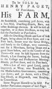Aug 4 - Providence Gazette slavery 3