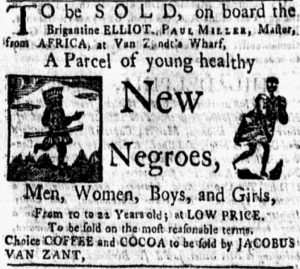 Aug 6 - New-York Gazette and Weekly Mercury slavery 2