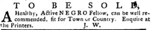 Jul 19 - Pennsylvania Journal slavery 3