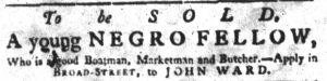 Jul 19 - South-Carolina Gazette supplement slavery 3