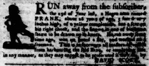 Jul 19 - Virginia Gazette Purdie and Dixon slavery 2