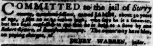 Jul 19 - Virginia Gazette Purdie and Dixon slavery 5