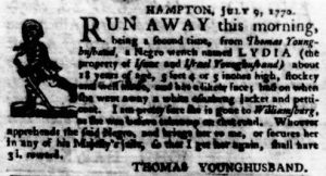 Jul 19 - Virginia Gazette Purdie and Dixon slavery 6
