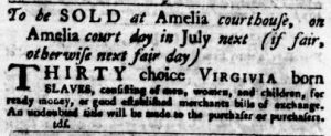 Jul 19 - Virginia Gazette Purdie and Dixon slavery 8