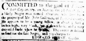Jul 19 - Virginia Gazette Rind slavery 3