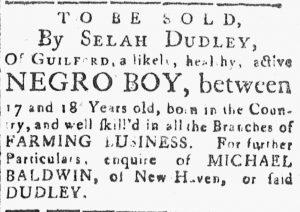 Jul 20 - Connecticut Journal slavery 1